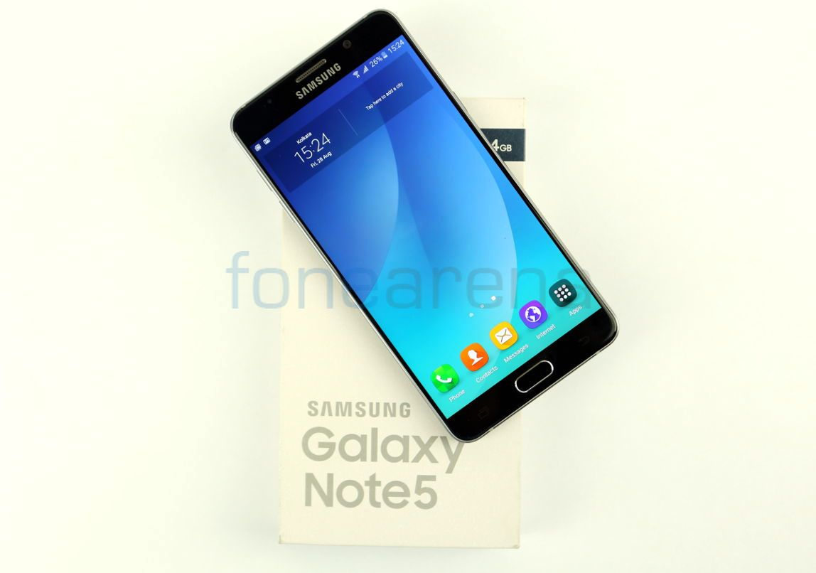 Samsung Galaxy Note5 Unboxing Fonearena 01