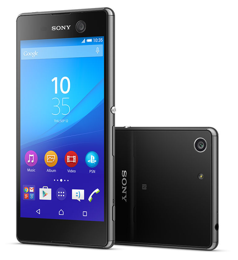 cheap for discount ccfa1 c905d Sony Xperia M5 Waterproof smartphone with 5-inch 1080p display, 21.5 ...
