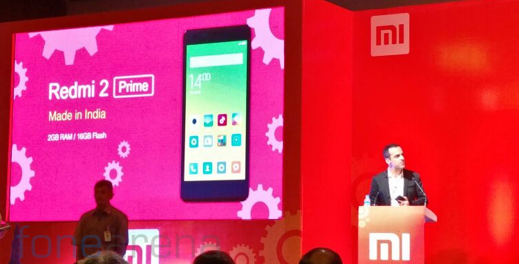 Xiaomi Make in India