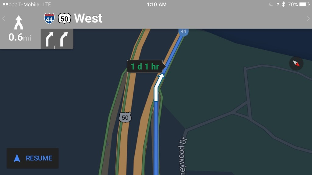 Google Maps For Ios Receives New Night Mode Feature