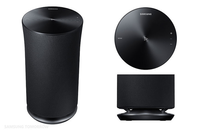 Samsung announces the R1, R3 and R5 Wireless Audio 360 Speakers