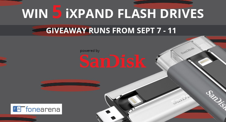 SanDisk iXpand Giveaway