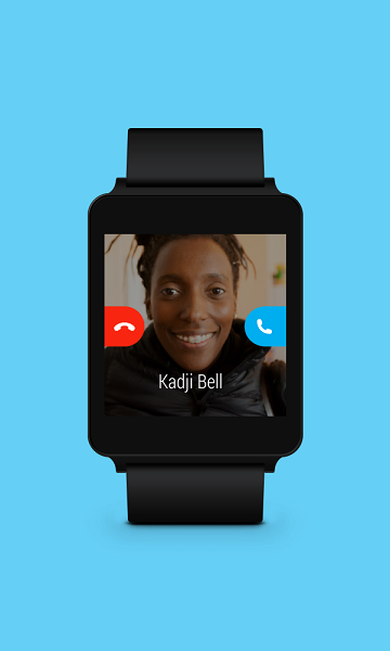 Skype Android Wear-1