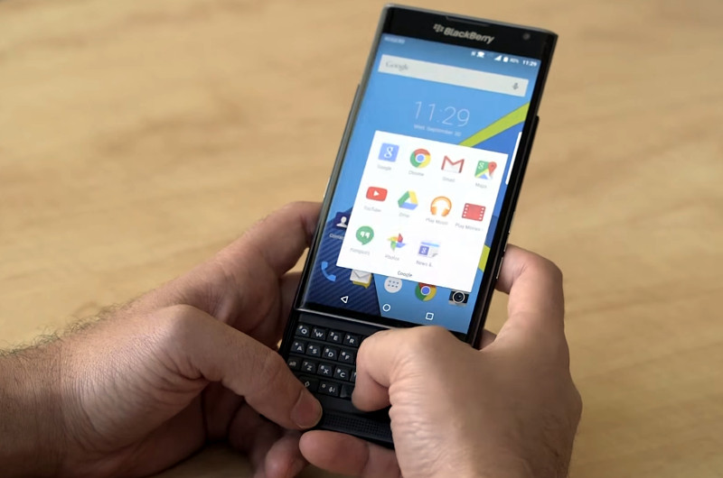 BlackBerry Priv imported into India for testing, hints at pricing