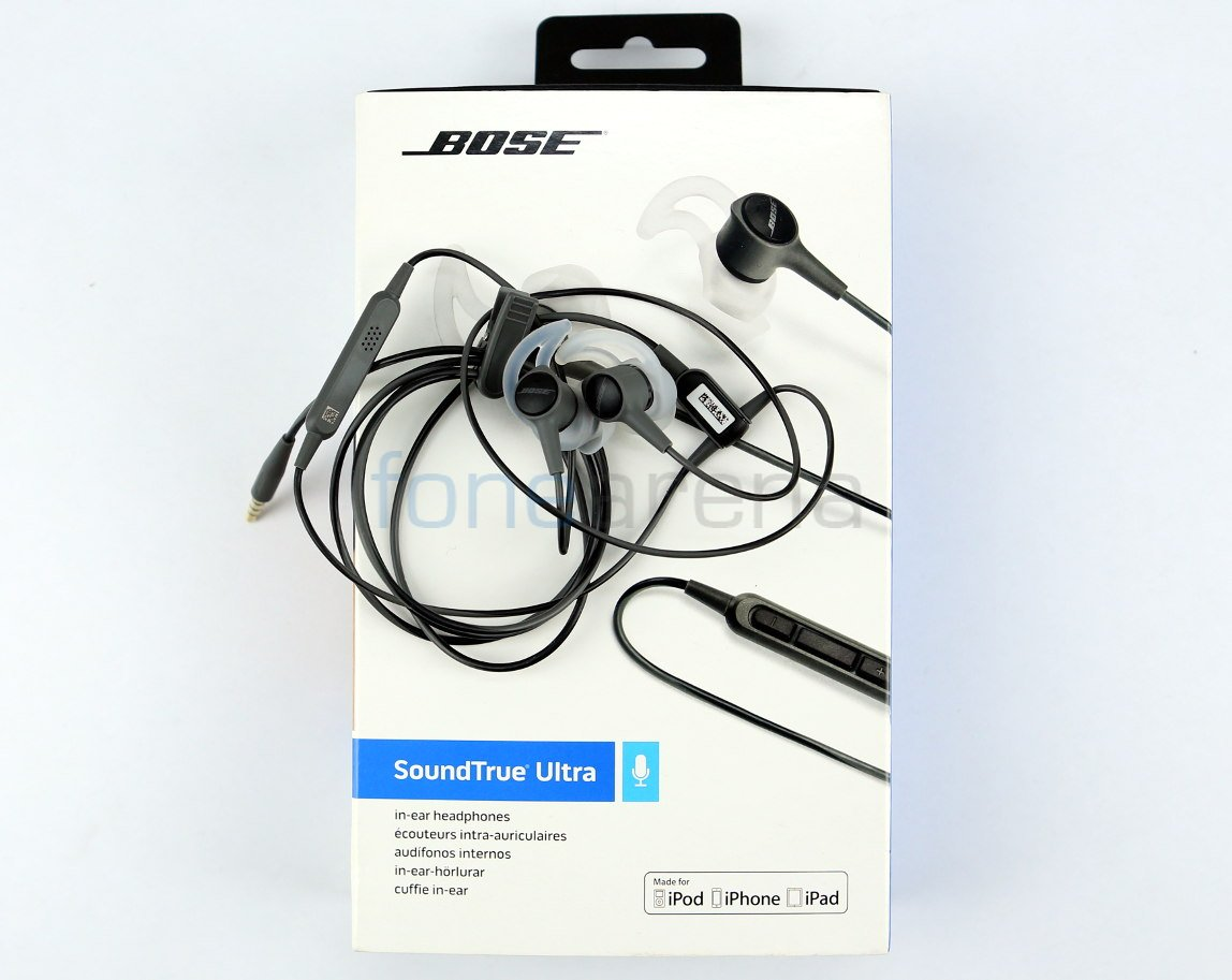 12a29eda3e3 Bose SoundTrue Ultra in-ear headphones Unboxing