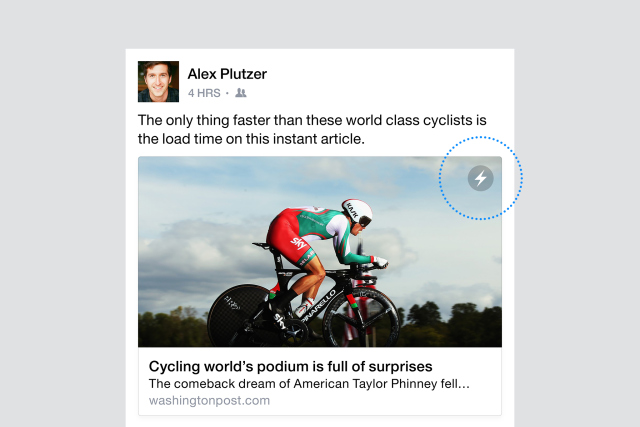 FB instant articles