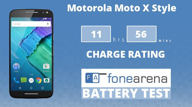 Motorola Moto X Style FA One Charge Rating
