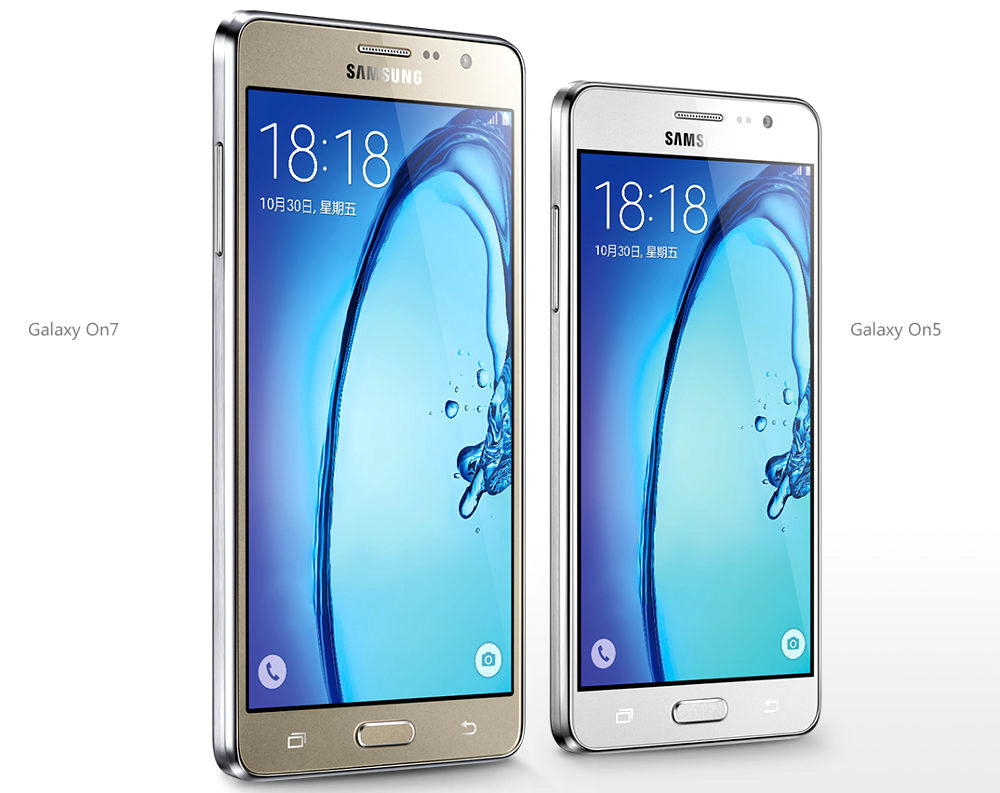 Samsung Galaxy On7 and Galaxy On5
