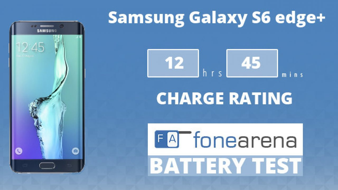 Samsung Galaxy S6 edge+ Battery Life Test