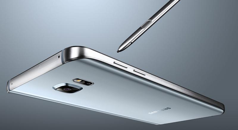 Silver Titanium Samsung Galaxy Note5