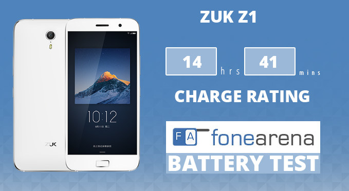 ZUK Z1 FA One Charge Rating