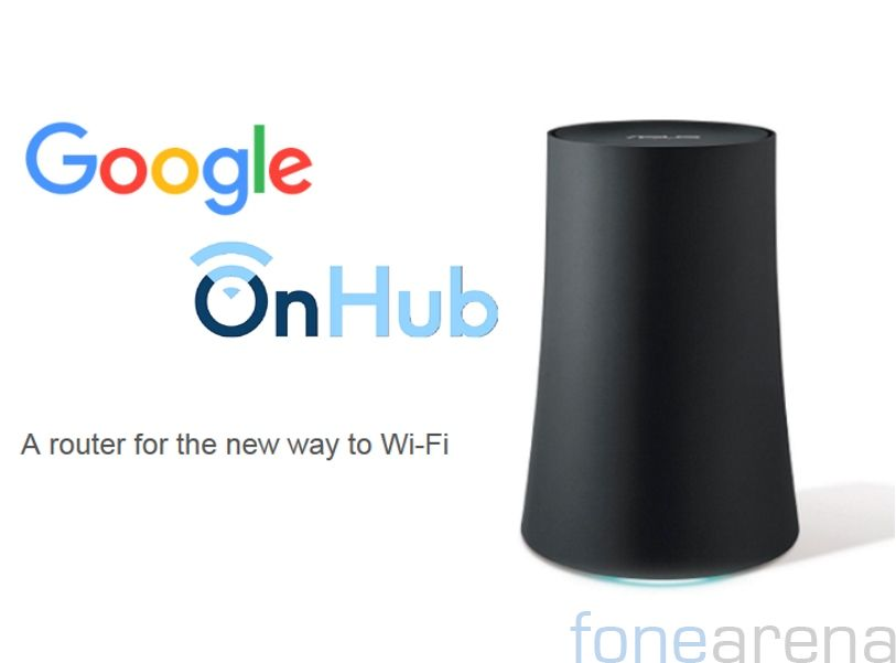 Google introduces second OnHub smart Wi-Fi router with Asus, pre-order for $219.99