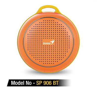 Genius Bluetooth speaker-1
