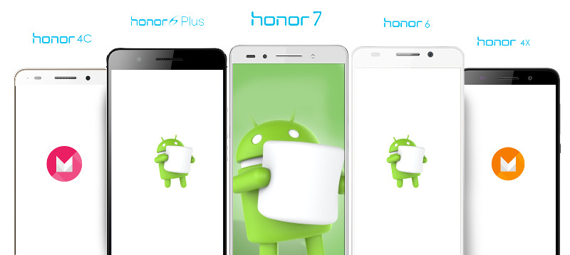 Huawei Android 6.0 Marshmallow
