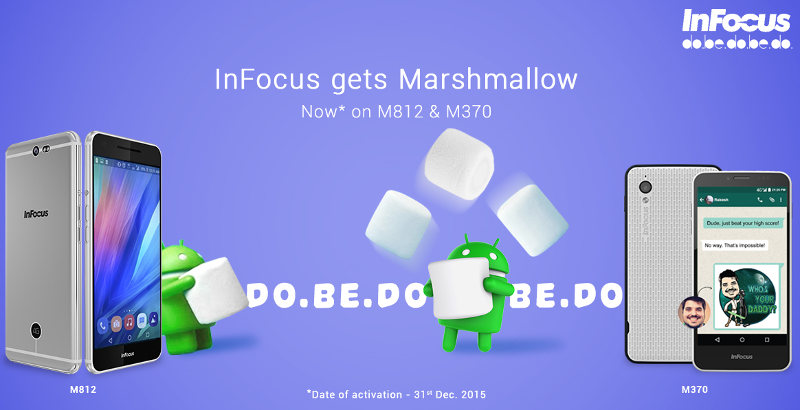 Infocus M812 and M370 Android 6.0 Marshmallow