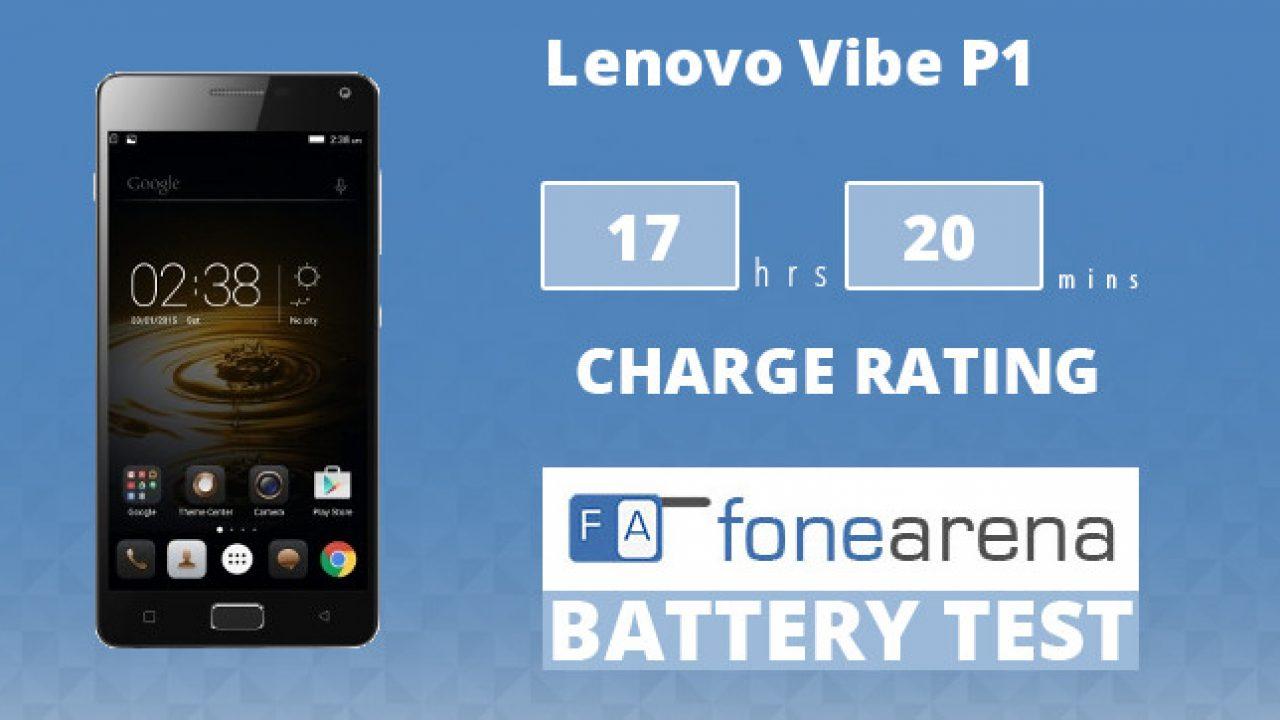 Lenovo Vibe P1 Battery Life Test