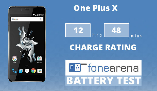 OnePlus X FA One Charge Rating