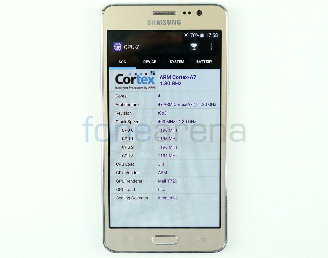 Samsung Galaxy On5 Benchmarks_fonearena