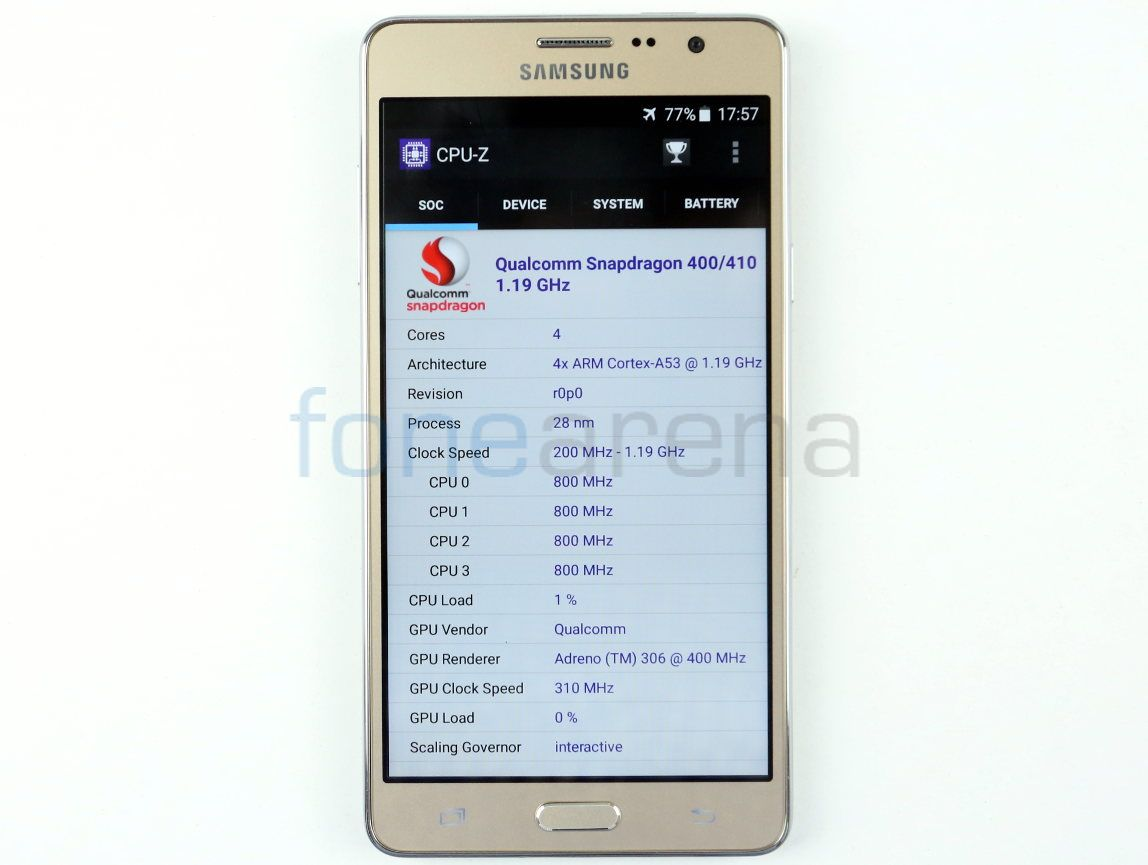 Samsung Galaxy On7 Benchmarks_fonearena