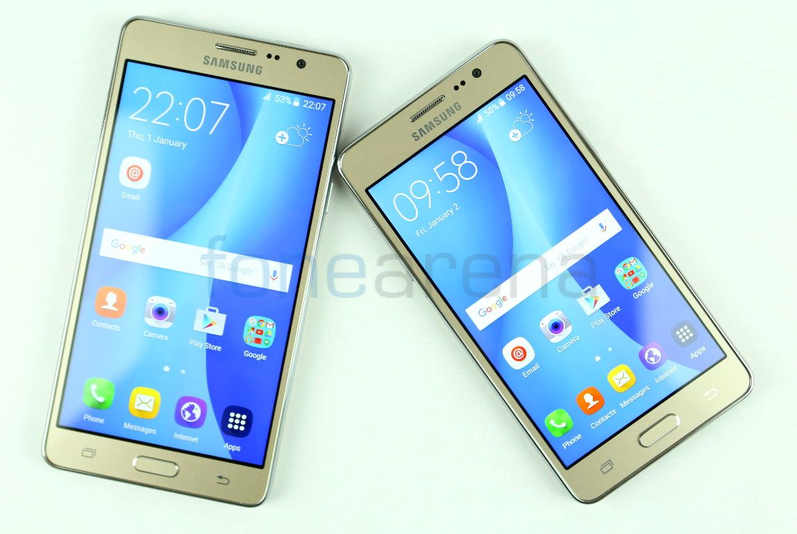 Samsung Galaxy On5 And Galaxy On7 Unboxing