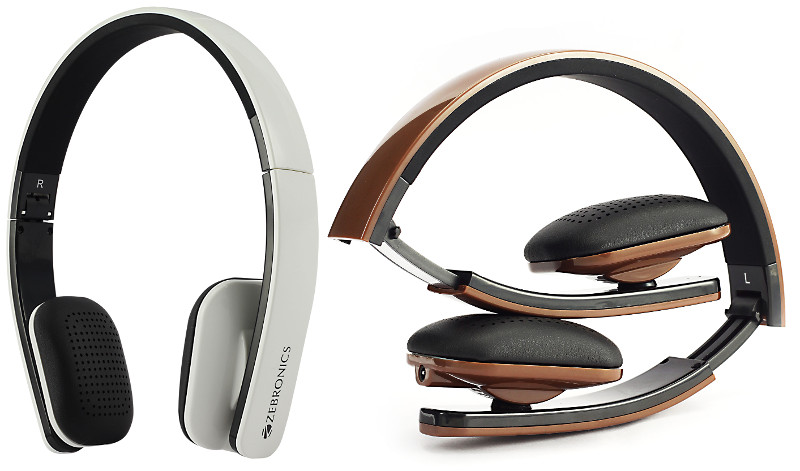 3c7301d189d Zebronics Happy Head Bluetooth wireless headphones launched for Rs. 1499