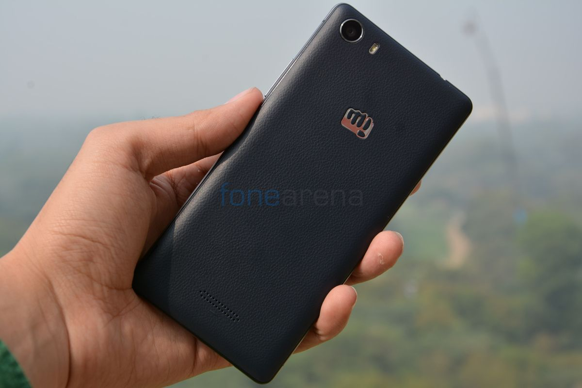 Micromax Canvas 5 Hands On and Photo Gallery