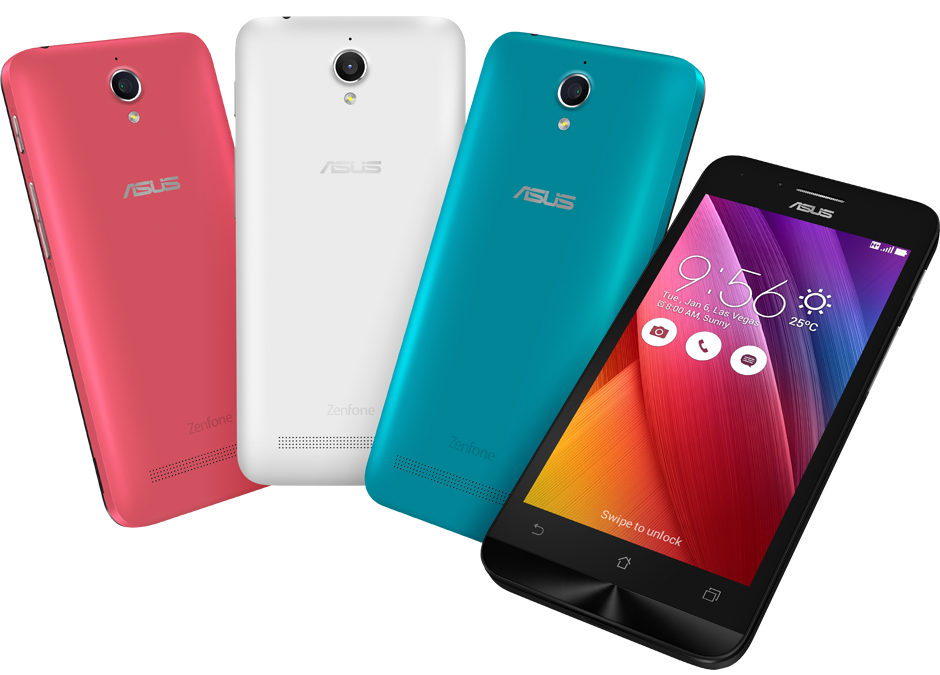 Asus Zenfone Go 45 With 1GB RAM Android 51 Launched In India For Rs 5299