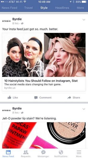 Facebook-multiple-news-feeds