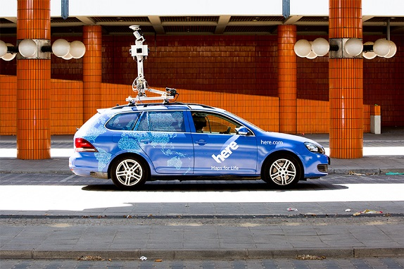HERE Maps to use real-time data to build maps for autonomous