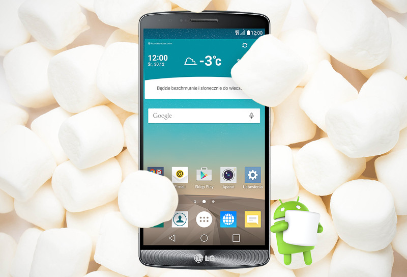 LG G3 Android 6.0 Marshmallow
