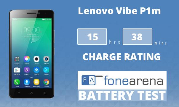 Lenovo Vibe P1m FA One Charge Rating