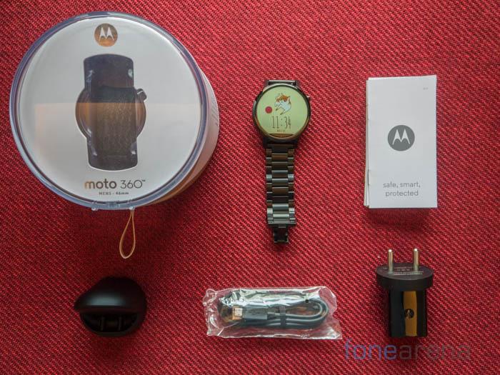 Moto 360 Unboxing-1