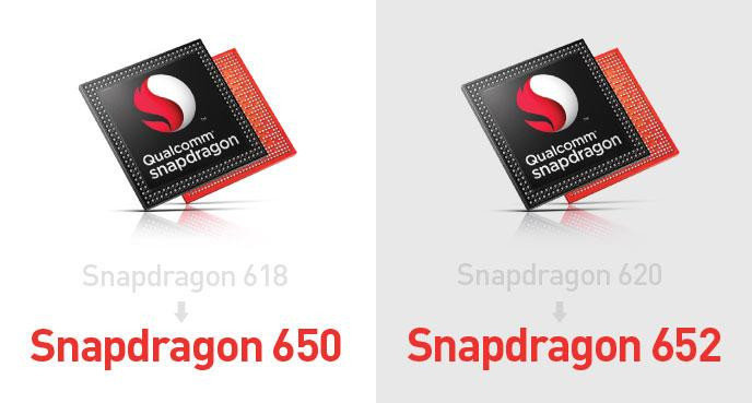 Qualcomm Snapdragon 650 and 652
