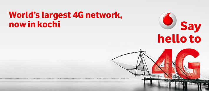Vodafone 4G Kochi