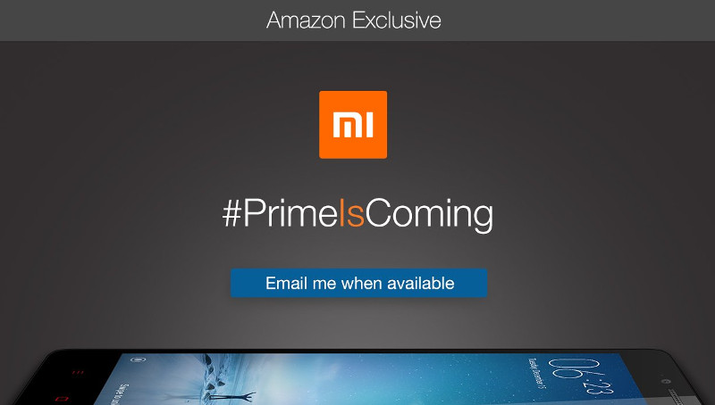 Xiaomi Redmi 2 Prime Amazon India teaser