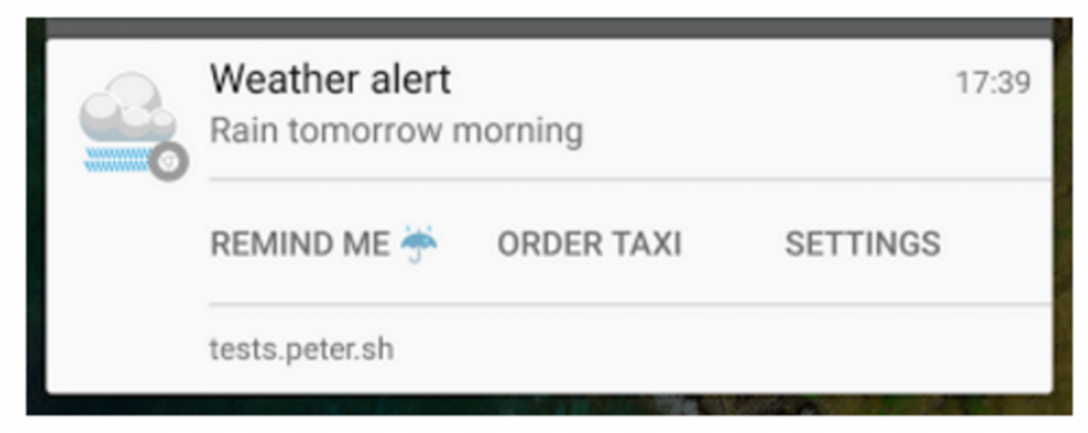 Google Chrome 48 beta for Android gets custom notification