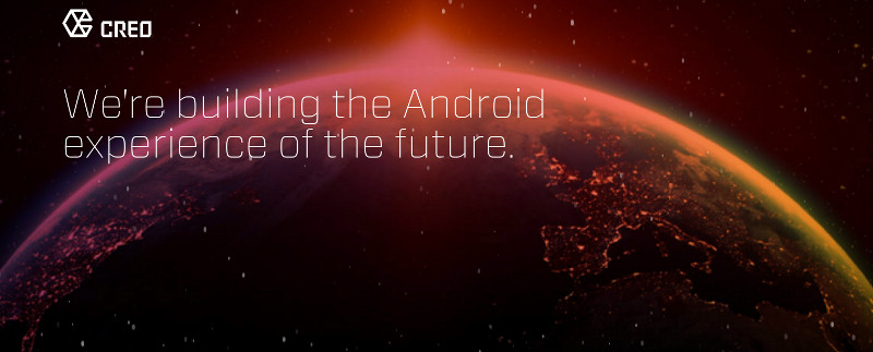 CREO Android OS announcement