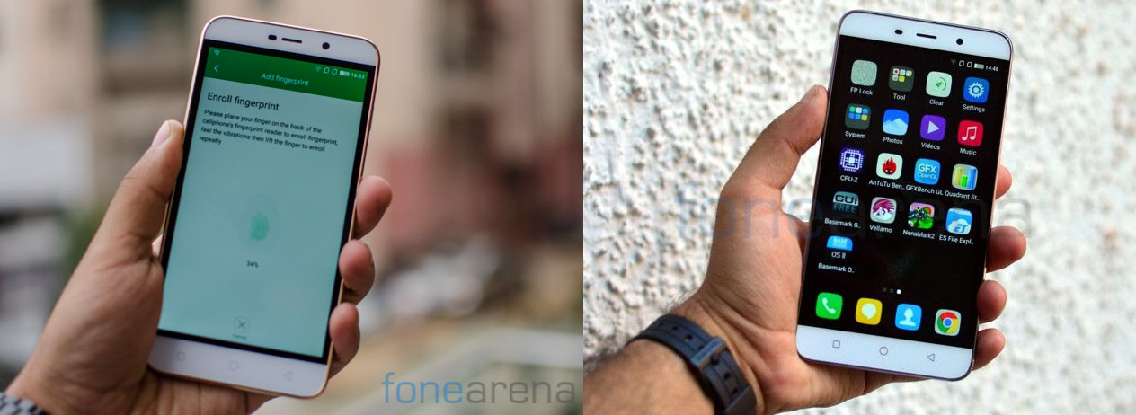 Coolpad Note 3 vs Note 3 Lite
