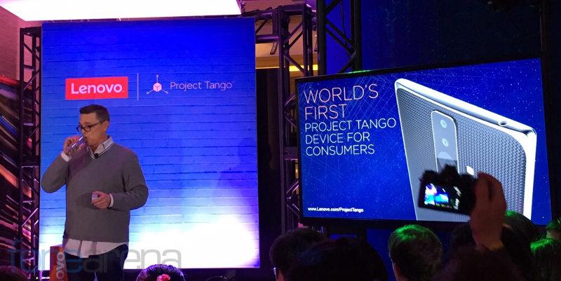 Lenovo Project Tango event