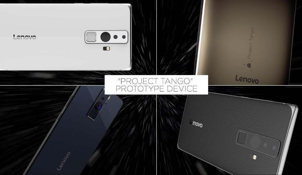 Lenovo Project Tango smartphone