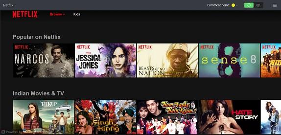 Netflix India content