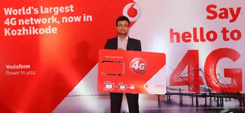 Vodafone 4G lanch Kozhikode
