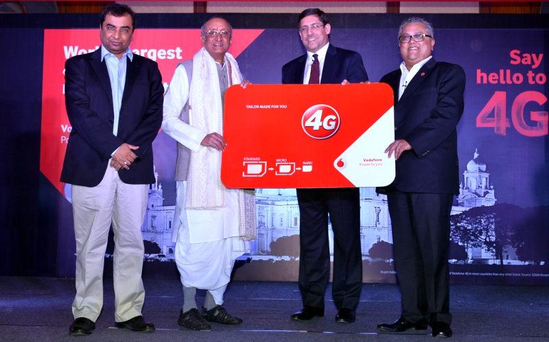 Vodafone 4G launch Kolkata
