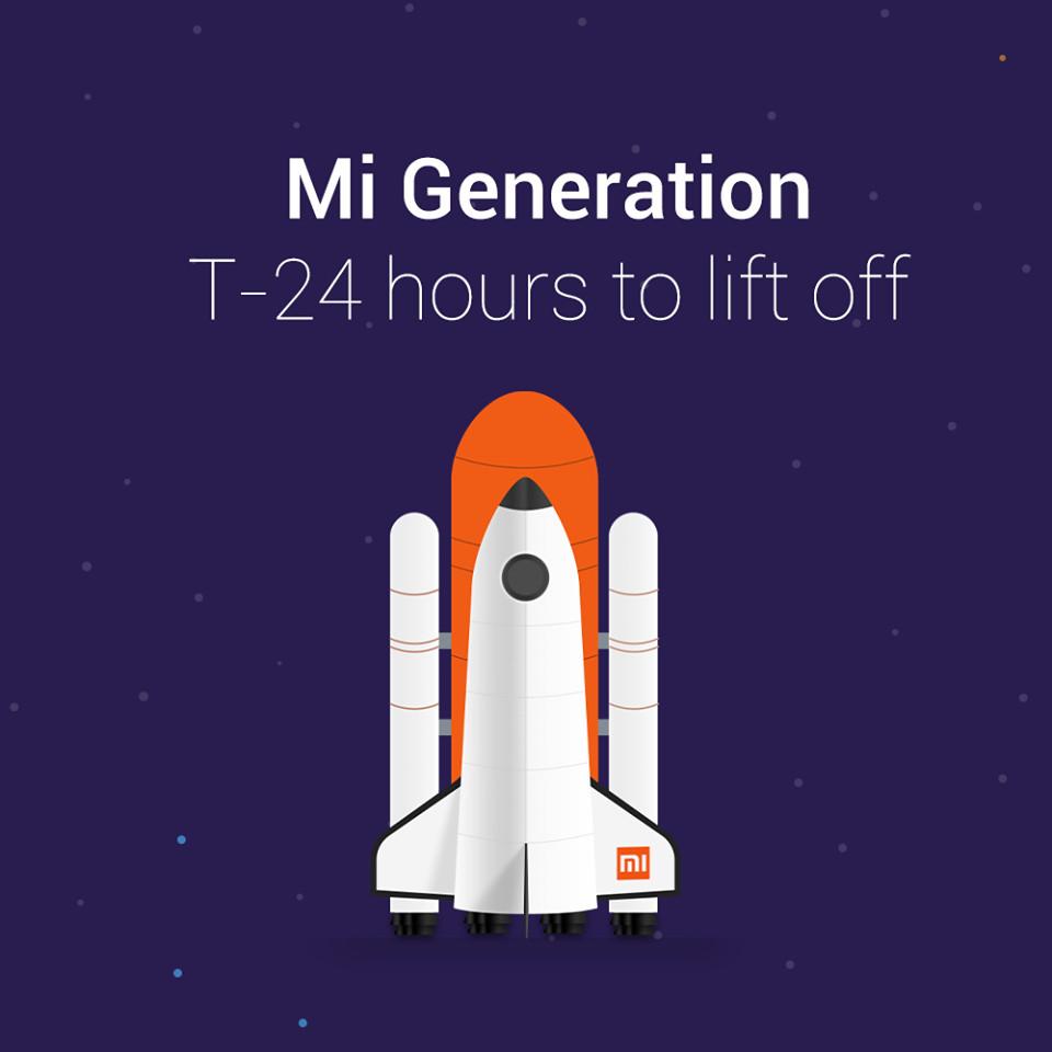 Xiaomi Mi Generation Jan 14 teaser