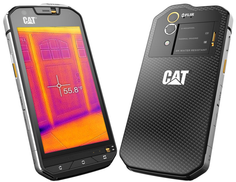 Cat S60 world's first smartphone with built-in thermal camera