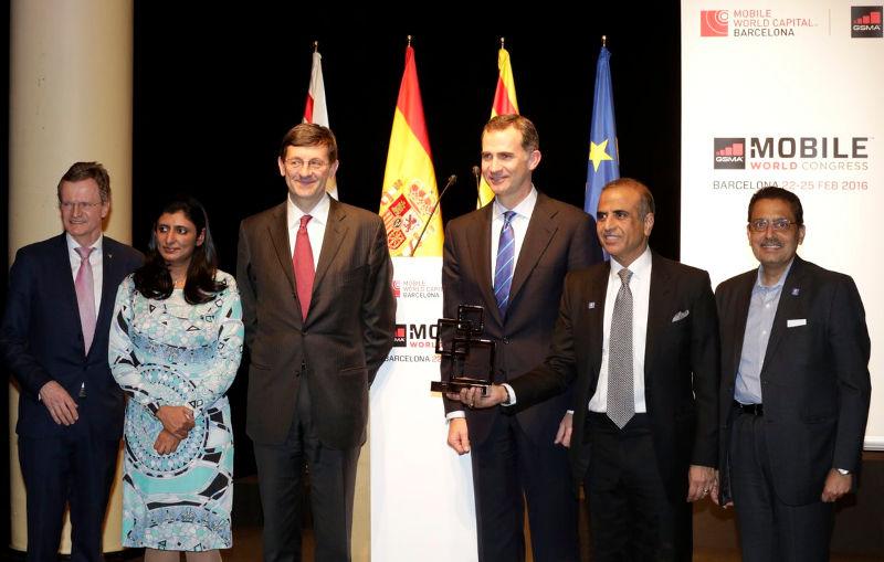GSMA Chairman's Award 2016