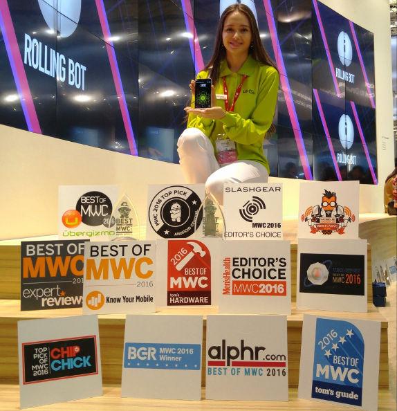 LG Awards MWC 2016