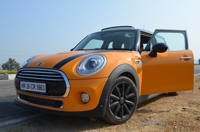 Not So Mini On Tech Driving The Mini Cooper D