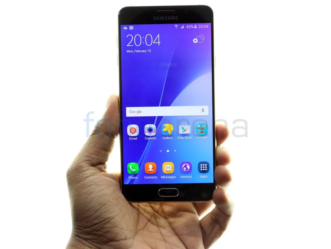 Samsung Galaxy A7 2016 Unboxing 16gb Fonearena 03
