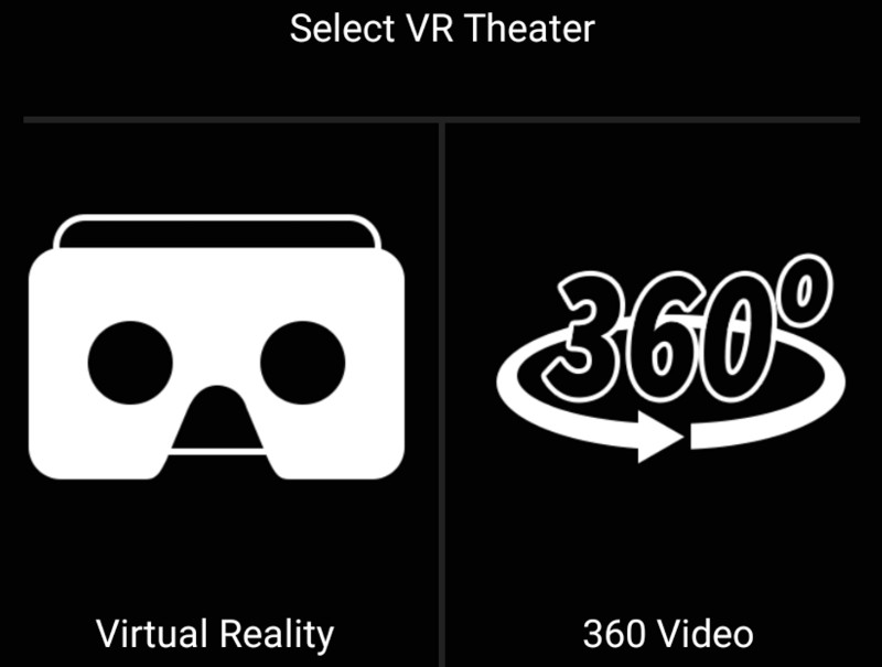 Sony Xperia VR Theater